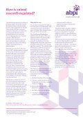 Animals and medicines research - Association of the British ... - Page 7