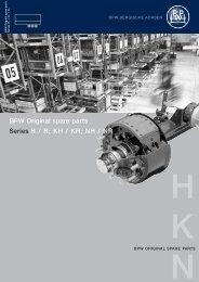 BPW Original spare parts HKN