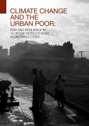 climate change and the urban poor - IIED pubs - International ...