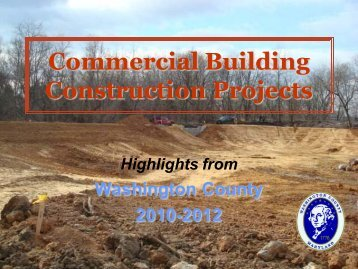 Commercial Building Construction Projects - Washington County ...
