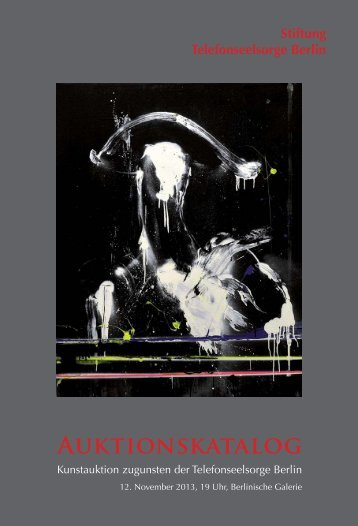 Auktionskatalog 2013 als pdf-Datei - Telefonseelsorge Berlin