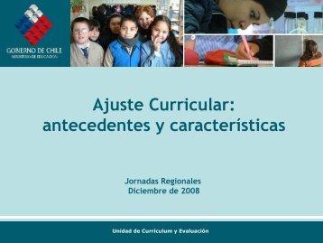 Presentacion General Ajuste - LEM - Universidad Católica de Temuco