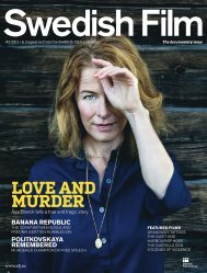 Love and murder - Swedish Film Institute