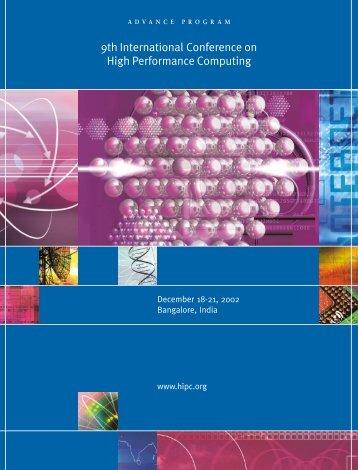 PDF Version (.6MB) - HiPC