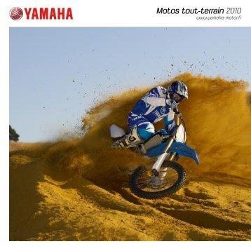 Motos tout-terrain 2010