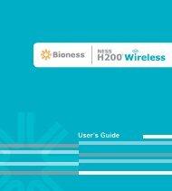 User's Guide - Bioness Inc.