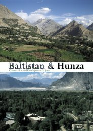 Baltistan & Hunza - Conservation and Development Projects