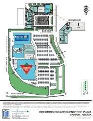 Site Plan - First Capital Realty