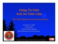 Putting The Public Back Into Public Safety