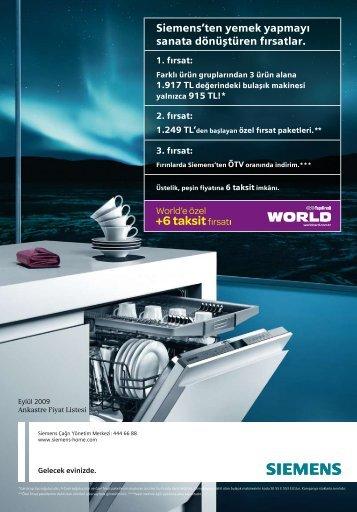 Siemens'ten yemek yapmayı sanata dönüştüren fırsatlar.
