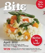 April 2012 WIN - Bite Magazine