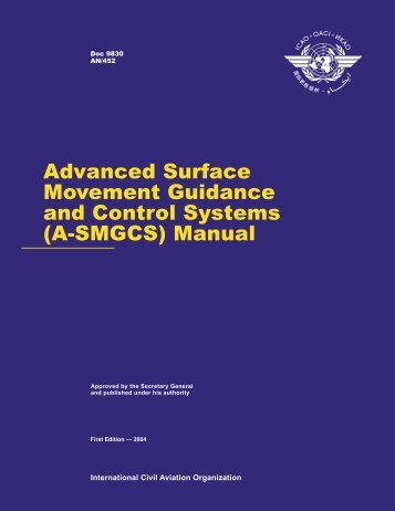 Advanced Surface Movement Guidance and Control Systems