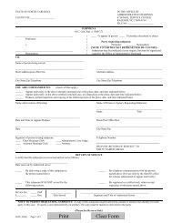 H05 Subpoena - Office of Administrative Hearings