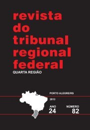 Revista nº 82 - 2013 - Edição impressa - Tribunal Regional Federal ...
