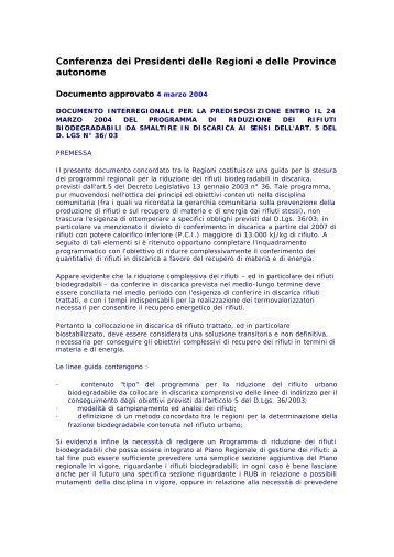 Documento - Consorzio Italiano Compostatori