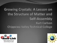 Crystal Self-Assembly Module