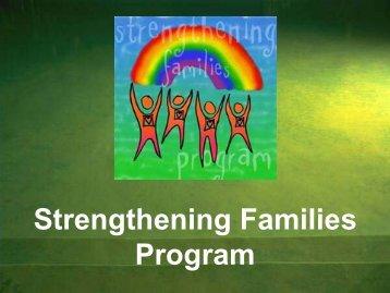 Strengthening Families Program - Inpes