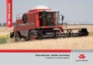 M F 7200 Cost-effective, flexible harvesting - AGROVOK-SERVIS, sro