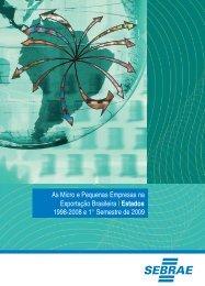 As Micro e Pequenas Empresas na Exportação Brasileira - Brasil e ...