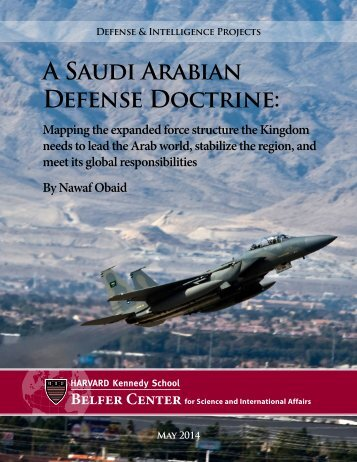 Saudi Strategic Doctrine - web