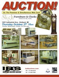 Thursday October 27th 10am 1201 Industrial Ave ... - IRS Auctions!