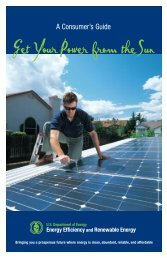 A Consumer's Guide: Get Your Power from the Sun (Brochure) - NREL