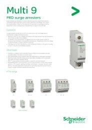 Multi 9 Surge Protection - Schneider Electric