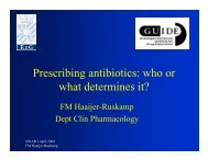Prescribing antibiotics: who or what determines it? - SWAB