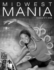 friday, october 2, 2009 - SCW Fitness
