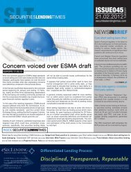 ISSUE045 - Securities Lending Times