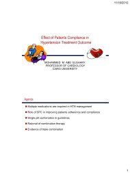 Effect of Patients Compliance in Hypertension ... - RM Solutions