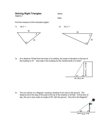 right triangle trigonometry word problems worksheet pdf www sfponline uploads 76 trigonometry. Black Bedroom Furniture Sets. Home Design Ideas