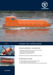 CLR Compact Life- and Rescue Boat - Fr. Fassmer GmbH & Co. KG