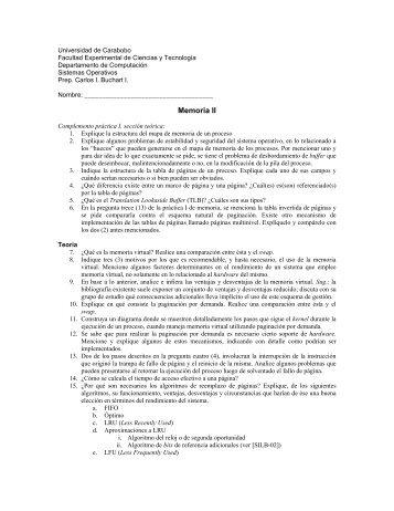 Guía II [PDF] - Universidad de Carabobo, FACYT - computacion