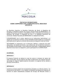 Procolo de Montevideo - Ushuaia II
