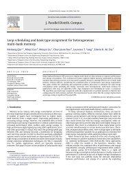 Loop Scheduling and Bank Type Assignment for Heterogeneous ...