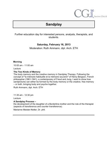sandplay dissertations Search specific fields title author this dissertation evaluated archival data from the implementation of a child-centered a version of a sandplay.