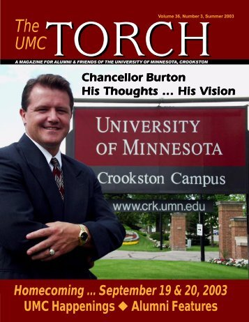 Volume 36, Number 3, Summer 2003 - University of Minnesota ...