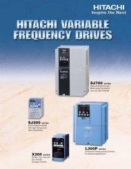 Hitachi Inverter General Catalog - Marshall Wolf Automation