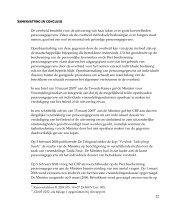 Samenvatting uitspraak: Individuele dossiers in handen van ...