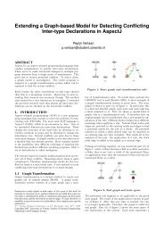 Extending a Graph-based Model for Detecting Conflicting Inter-type ...