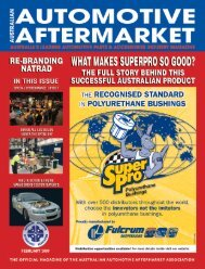 NEWS - Australian Automotive Aftermarket Magazine