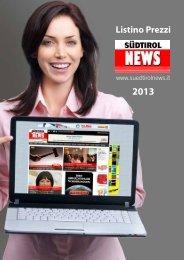 Listino Prezzi - SuedtirolNews.it