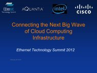 Connecting the Next Big Wave of Cloud Computing Infrastructure