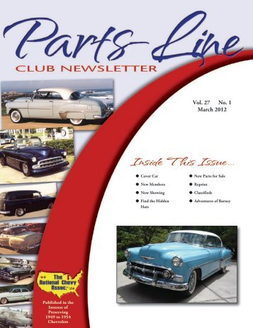Inside This Issue... - National Chevy Association