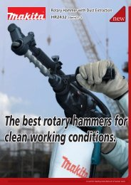 24mm Rotary Hammer with Dust Extraction HR2432 - Makita