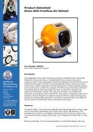 Product Datasheet: Divex-AH5-Freeflow-Air-Helmet