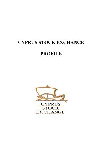 CYPRUS STOCK EXCHANGE PROFILE - FTSE