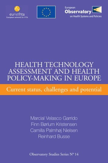 Health technology assessment and health policy-making in Europe ...
