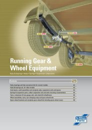 Running Gear & Wheel Equipment - Agrinova Trailer i Uppsala